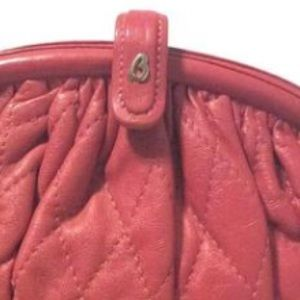 Brio Bags - Brio Vintage Pink Leather Quilted Purse